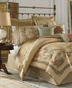 Croscill Normandy Comforter Sets $420.00 - Macy's  Drapes Available