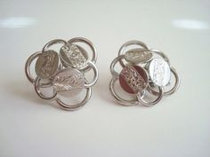 Vintage Sarah Coventry Clip on Earrings by VintageCharmPlace