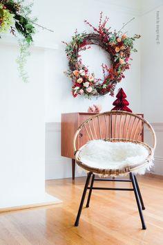 Holiday wreath by @kianau  #tulipina | French By Design