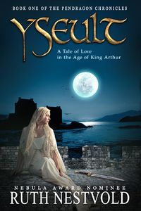 http://bookbarbarian.com/yseult-a-tale-of-love-in-the-age-of-king-arthur-by-ruth-nestvold/ For the price of a truce, Yseult is sent to a world where magic is dying - to marry the father of the man she loves.  Marcus's son Drystan would have saved her from a loveless marriage, but with her relatives being held hostage, Yseult cannot endanger them and must go through with the wedding. The tragic love story of Yseult and Drystan plays out against the backdrop of a violent worl