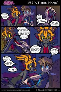 Monster Under The Bed, Comic Books, Comics, Art, Art Background, Kunst, Cartoons, Cartoons, Performing Arts