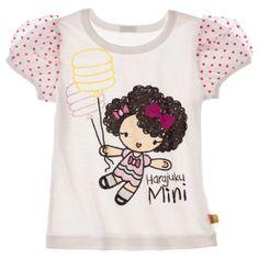 Harajuku Mini for Target® Toddler Girls' Short-sleeve Tee - Cream