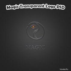 Магический Логотип PSD