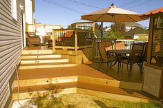 Image detail for -Above Ground Pool DeckHill 300x199 Above Ground Pools: Three Solutions ...