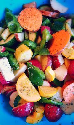 Seasoned & Roasted Vegetables