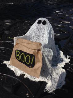 Handmade Seethrough Halloween Ghost Made From by HalloweenGhosts, $8.00