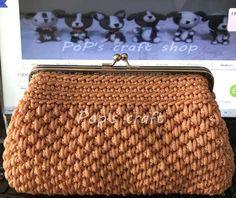 crochet bag Crochet Shoes, Crochet Purses, Crochet Bags, Knitted Bags, Craft Shop, Purses And Bags, Coin Purse, Hair Beauty, Handbags