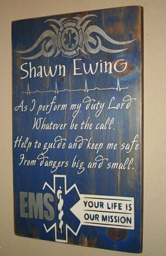 EMS Wall Hanging by DeenasDesign on Etsy, $39.00