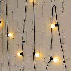 Seletti Bella Vista Outdoor LED Light Garlands | Outdoor Lights | Outdoor Lights | Lighting | Heal's