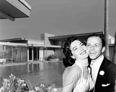 "The midcentury modernist house made headlines when Sinatra famously dumped all of Ava Gardner's belongings onto the driveway and threw a bottle at a sink in a fit of fury—the chip can still be seen today. Despite the ups and downs, at the time of her death, in 1990, Gardner said ""she never loved another man as much as she loved Frank."""