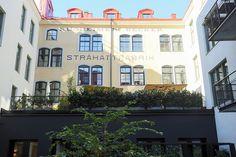 Modern Swedish flat in former Straw Hat Factory building
