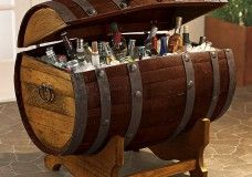Tequila Barrel Ice Chest: We've Found The Hidden Pirate Treasure And It's Full Of Beer