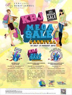 1 Jul-31 Aug 2015: Kompleks Bukit Jambul Mega Sale Carnival 2015