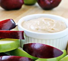 Apple Dip with Sweetened Cream Cheese   Culinary Hill