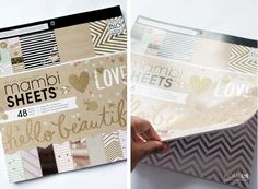 How To Craft A Cute Binder You need those paper : )