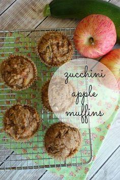 Zucchini Apple Muffins (Gluten/Grain-free, SCD Legal, Paleo) | This is so good...