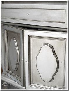metallic furniture tutorial