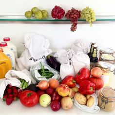 Shopping Zero Waste...so colorful & healthy!  :)