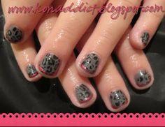 rockstar nails girls nails nails art art addictkonad nails design
