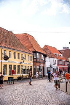 Ribe, Denmark: Visiting the Oldest Town in Denmark and Exploring the Beautiful Walking Streets! Viking Museum, Famous Saints, Walking Street, Aarhus, Copenhagen Denmark, Free Travel, New Adventures, Old Town, Travel Photos