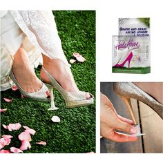 Heels Above stylishly protect and stabilise your high heeled shoes, keeping you above surfaces like grass, grates and cracks that can damage your shoes and slow you down. Bridal Parties or any outdoor event, Heel Above are the perfect discreet solution to prevent those gorgeous high heels getting ruined. http://www.secretfashionfixes.ie/heels-above-high-heel-protectors/ha%20sho%20stppd.html