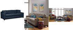 Clarke Fabric Sofa: Custom Colors - Couches & Sofas - Furniture - Macy's