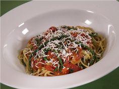 Spaghetti with String Beans - Spaghetti con Fagiolini
