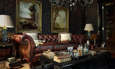 This room just oozes class from every pore and corner. Perfect for enjoying a fine aged scotch, and laughing at the plight of the poor.