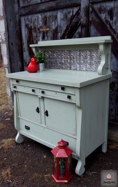 Sideboard Buffet – Tuesday's Treasures Sage Green Sideboard Buffet by FunCycledSage Green Sideboard Buffet by FunCycled Vintage Buffet, Antique Buffet, Antique Sideboard, Repurposed Furniture, Shabby Chic Furniture, Cool Furniture, Painted Furniture, Vintage Furniture, Mirror Buffet