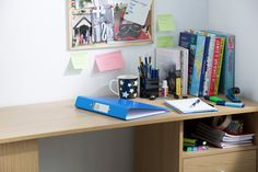 Keep your desk at university organised with cute stationery and desk accessories.
