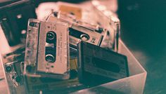 Image de music, vintage, and cassette