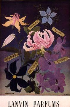 Lanvin Parfums, 1947.