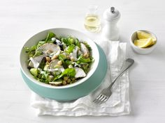 Lemon and Oregano Chicken Salad with Mustard Yoghurt