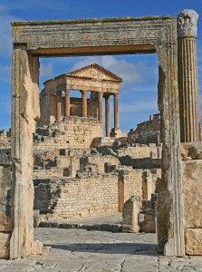 Dougga Archaeological Site in Tunisia: http://www.tunisia-travel-planner.com/places/dougga/