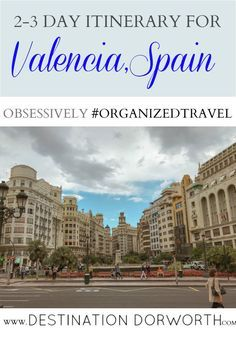 Get our famously detailed 2-3 day itinerary for beautiful Valencia, Spain. See what to do, where to eat, and learn the important facts about Spain.