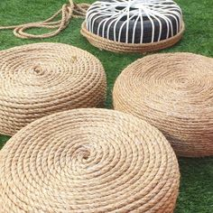 DIY Tire Ottoman 2019 Old Tires Are Hard to Get Rid of. The Solution? Turn Them Into an Ottoman! The post DIY Tire Ottoman 2019 appeared first on Patio Diy. Rope Crafts, Diy Home Crafts, Diy Home Decor, Crafts Cheap, Art Crafts, Diy Outdoor Furniture, Diy Furniture, Hooker Furniture, Repurposed Furniture