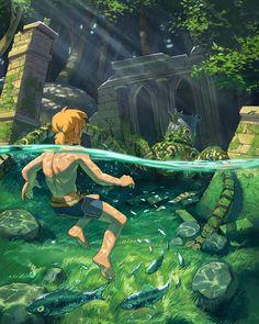 The Legend Of Zelda, Legend Of Zelda Memes, Legend Of Zelda Breath, Breath Of The Wild, Zelda Breath Of Wild, Image Zelda, Arte Grunge, Character Art, Character Design