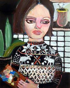 Silvia Argiolas – Blind Wonder Blinds, Gardening, Artists, Portrait, Artwork, Anime, Painting, Women, Sunroom Blinds