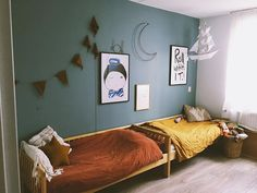 Teen Room Decors - Just another WordPress site Shared Boys Rooms, Cute Teen Rooms, Big Girl Rooms, Kids Bedroom Designs, Kids Room Design, Teen Room Decor, Girls Bedroom, Bedrooms, Boy Room
