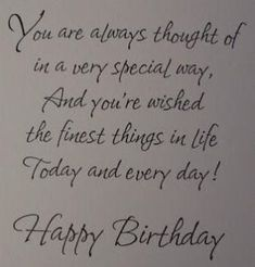 22 Ideas birthday card sayings for friends messages wish quotes Funny Happy Birthday Wishes, Friend Birthday Quotes, Birthday Wishes For Boyfriend, Birthday Greetings, Happy Birthday Special Lady, Husband Birthday, Birthday Verses For Friends, Birthday Quotes For Brother, Happy Birthday Beautiful Lady