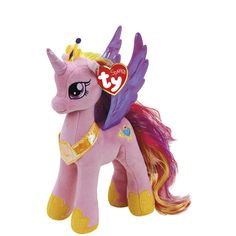 Ty Princess Cadance Beanie Babies Plush at The Paper Store