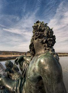 Greater Paris, Versailles Grand Parc, Versailles Gardens, The Garonne by Coysevox