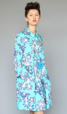 Karen Walker floral cotton luster coat