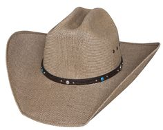 Bullhide® NRA Country 50X Straw Hat [2731]