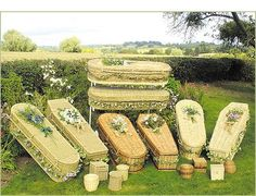 eco-friendly caskets..that's what I want family!