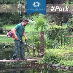 Our gardeners are always diligent to work, the park needs continue maintenance