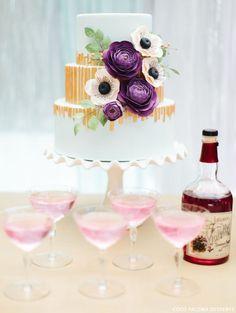 Fall Wedding Cake Inspiration | by Coco Paloma Desserts on TheCakeBlog.com