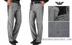 386913b4143e Pantalon Homme Giorgio Armani Pas Cher Grise