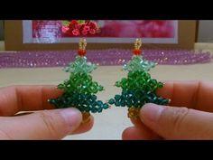 水晶串珠 植物類饰品 聖誕樹 - YouTube