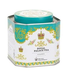 Royal Palace tea is a lovely blend of black teas, with notes of lemon and grapefruit. Each sachet brews a 12 oz cup of tea. Kosher.